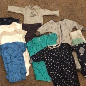Other - 13 piece baby boy bundle 0-3 month